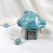Для дома и интерьера ручной работы. Ярмарка Мастеров - ручная работа Домики-колокольчики. Handmade.