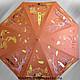 Зонты ручной работы. Ярмарка Мастеров - ручная работа. Купить Оранжевый зонт про 33 кошки. Handmade. Кот, Кошки