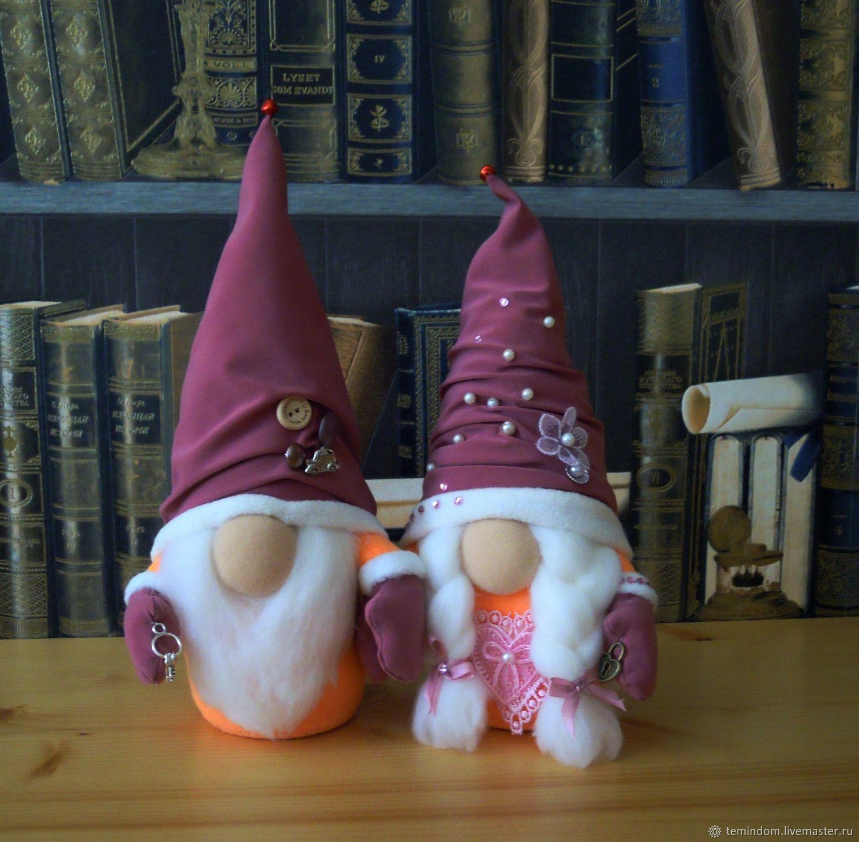 гномы-символы любви, семьи, верности, Мягкие игрушки, Тольятти,  Фото №1