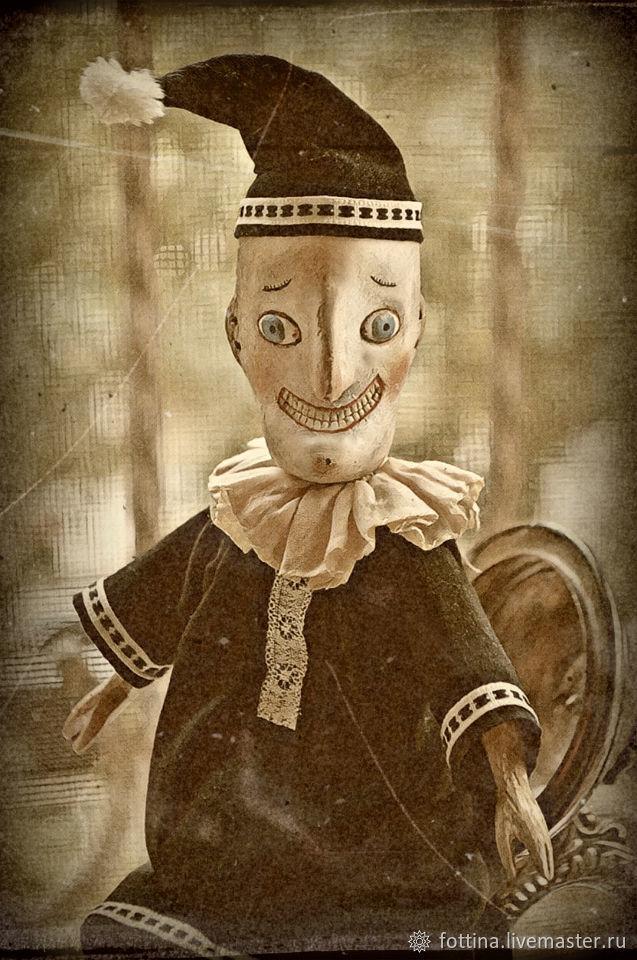 Коллекционные куклы ручной работы. Ярмарка Мастеров - ручная работа. Купить Петрушка. Handmade. Репродукция, гипс