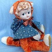 Куклы и игрушки ручной работы. Ярмарка Мастеров - ручная работа Лиса Лиска. Handmade.