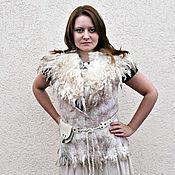 Одежда handmade. Livemaster - original item The vest is felted,