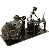 Сувениры и подарки handmade. Livemaster - original item A nuclear engineer. Handmade.