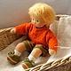 Вальдорфская игрушка ручной работы. Ярмарка Мастеров - ручная работа. Купить Маленькое Солнышко, 32 см. Handmade. Вальдорфская кукла