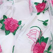 Новинка!Итальянская вышивка на сетке Pinko 3400руб-м