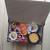 Кукольная еда ручной работы. Ярмарка Мастеров - ручная работа Еда для кукол. Handmade.