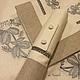 Текстиль, ковры ручной работы. Ярмарка Мастеров - ручная работа. Купить Рубашка- держатель для салфеток AUDUN FERME. Handmade.