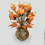 Цветы и флористика handmade. Livemaster - original item The colors of the opal