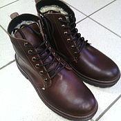 Обувь ручной работы. Ярмарка Мастеров - ручная работа сапоги мужские. Handmade.