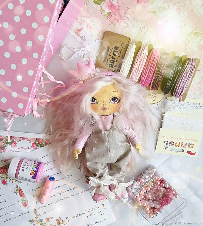 Коллекционные куклы ручной работы. Ярмарка Мастеров - ручная работа. Купить Текстильная Кукла Принцесса. Ручная работа. Handmade. Кукла