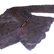 """Одежда handmade. Livemaster - original item Жакет женский """" Шоколад"""". Handmade."""
