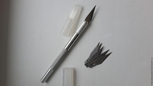 Шитье ручной работы. Ярмарка Мастеров - ручная работа. Купить Нож для художественной резки. Handmade. Инструмент для кожи, металл, резьба