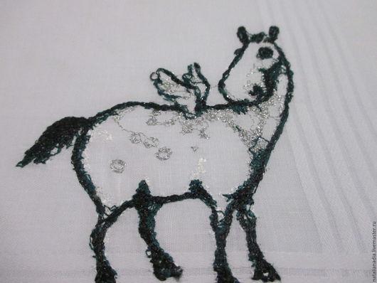 Носовые платочки ручной работы. Ярмарка Мастеров - ручная работа. Купить Носовой платок с вышивкой женский. Handmade. Комбинированный