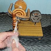 Материалы для творчества handmade. Livemaster - original item Spinning wheel electric Assistant. Handmade.