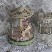"""Для дома и интерьера ручной работы. Ярмарка Мастеров - ручная работа Карусель """"Моё детство пахнет мятой и ванилью"""". Handmade."""