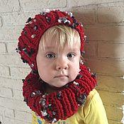 Аксессуары ручной работы. Ярмарка Мастеров - ручная работа Комплект: шапка и снуд. Handmade.