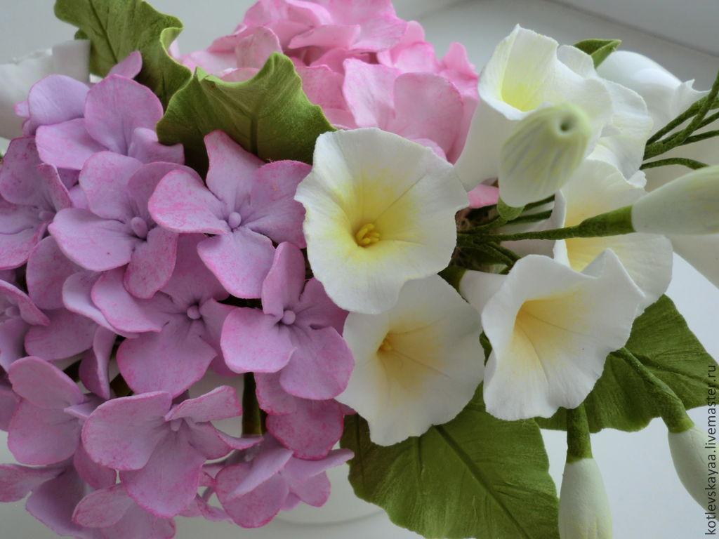 Весенняя композиция из цветов