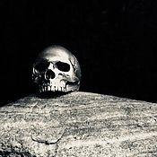 "Украшения handmade. Livemaster - original item Ring ""Skull"" of silver 925. Handmade."