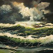 Картины и панно ручной работы. Ярмарка Мастеров - ручная работа Море,море.... Handmade.