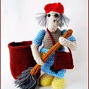 Мягкие игрушки ручной работы. Ярмарка Мастеров - ручная работа Баба Яга. Handmade.