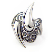 Украшения ручной работы. Ярмарка Мастеров - ручная работа Капли Дождя - крупное кольцо из серебра. Handmade.