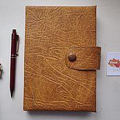 Канцелярские товары handmade. Livemaster - original item Classic diary. Handmade.