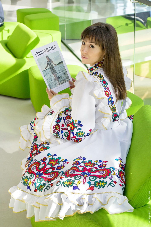 Выкройки костюмов татарских фото 785