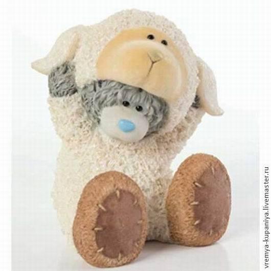 """Материалы для косметики ручной работы. Ярмарка Мастеров - ручная работа. Купить Силиконовая форма для мыла  """"Тедди в костюме овечки"""". Handmade."""