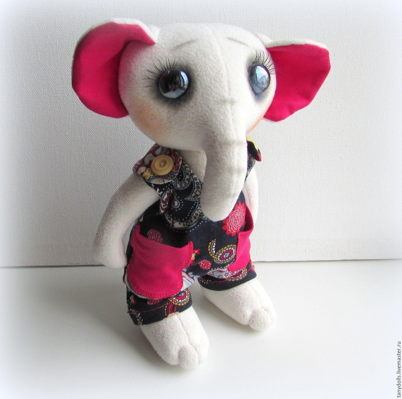 Мишка из флиса