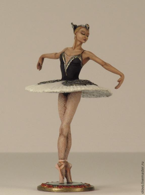 """""""Балерина"""". Оловянная миниатюра в росписи. Размер 54 мм, Миниатюрные модели, Санкт-Петербург, Фото №1"""