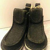 """Обувь ручной работы. Ярмарка Мастеров - ручная работа Валенки, модель """"Черныши"""". Handmade."""