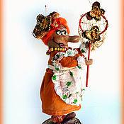 Куклы и игрушки ручной работы. Ярмарка Мастеров - ручная работа Кузьминична. Ароматизированная куколка. Handmade.