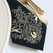 Подарки к праздникам handmade. Livemaster - original item Napkin with embroidery