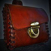 Сумки и аксессуары handmade. Livemaster - original item Belt bag for cigarettes. Handmade.