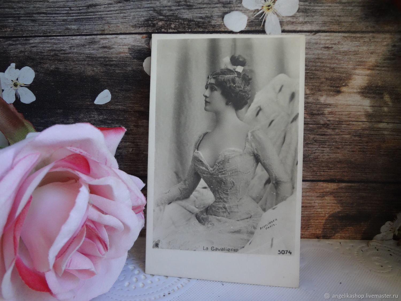 Винтаж:  Лина Кавальери, Открытки винтажные, Рязань,  Фото №1