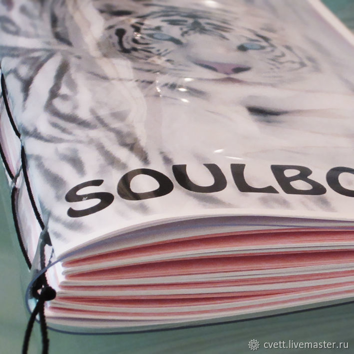 Notepad SOULBOOK `WHITE TIGER`