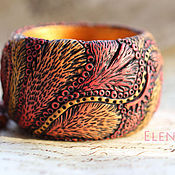 Украшения handmade. Livemaster - original item Bracelet from polymer clay. Handmade.