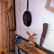 Для дома и интерьера ручной работы. Ярмарка Мастеров - ручная работа Полка из дров. Handmade.