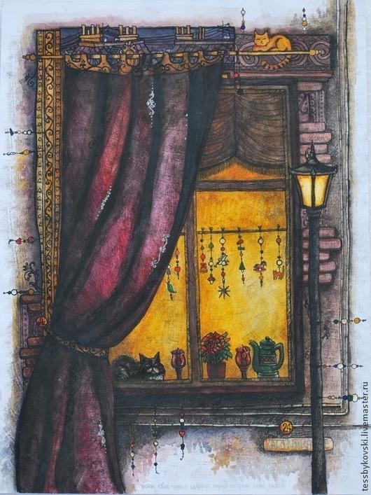 Перед Рождеством (серия `Окна`) автор Тася Быковски