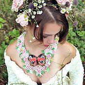 """Украшения ручной работы. Ярмарка Мастеров - ручная работа Колье """"Нежность Весны"""". Handmade."""