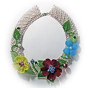 Украшения handmade. Livemaster - original item Flower meadow Decoration Beads. Handmade.