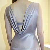 Одежда handmade. Livemaster - original item Evening dress with a cascade. Handmade.