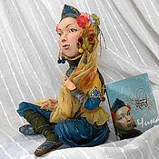 """Куклы и игрушки ручной работы. Ярмарка Мастеров - ручная работа Авторская кукла """" Чина"""" Для примера. Handmade."""