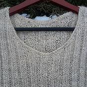 Одежда ручной работы. Ярмарка Мастеров - ручная работа Жилет-майка из собачьей шерсти. Handmade.