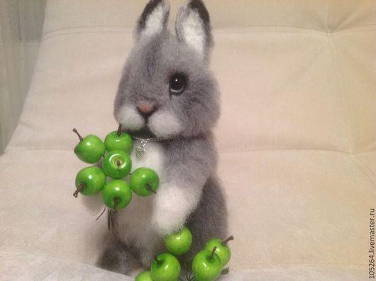 Игрушки животные, ручной работы. Ярмарка Мастеров - ручная работа. Купить Крольчонок. Handmade. Крольчонок, игрушка из войлока