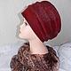 Валяная шапка. Головной убор для женщин, дизайнерский фетр. Шапка женская. Аксессуар ручной работы. Шапка из шерсти.