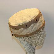 Одежда ручной работы. Ярмарка Мастеров - ручная работа Летняяя шапочка-таблетка. Handmade.