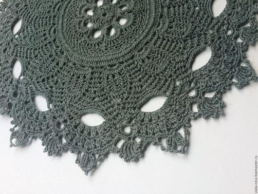 Текстиль, ковры ручной работы. Ярмарка Мастеров - ручная работа. Купить Салфетки для интерьера. Handmade. Комбинированный, Вязание крючком