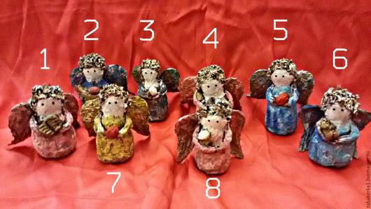 Винтажные куклы и игрушки. Ярмарка Мастеров - ручная работа. Купить Ангелочки пасхальные. Handmade. Комбинированный, игрушка папье маше, ангелята