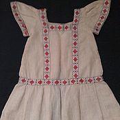 Куклы и игрушки ручной работы. Ярмарка Мастеров - ручная работа Старинное кукольное платье. Handmade.